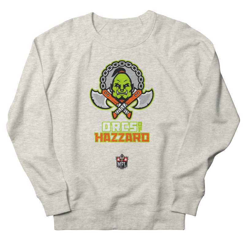 MFL Orcs of Hazzard logo Men's Sweatshirt by Mutant Football League Team Store