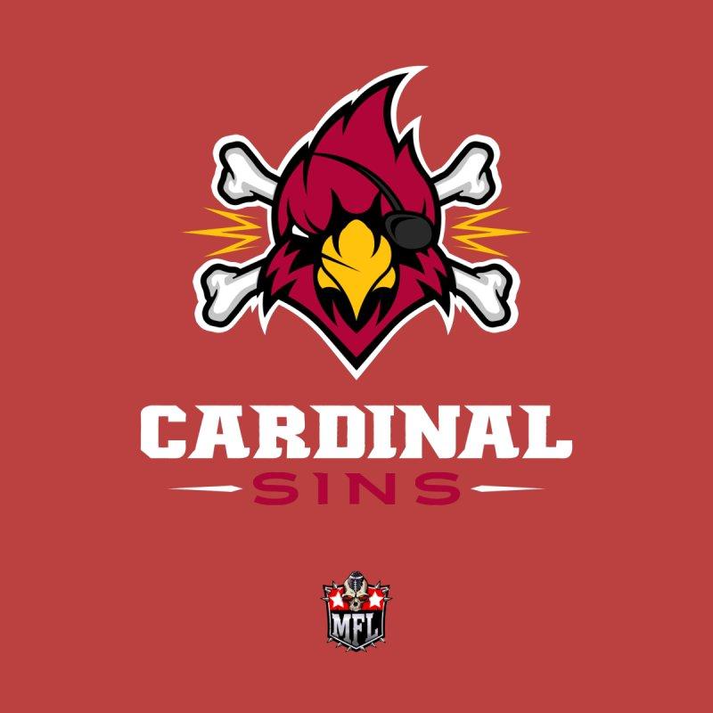 MFL Cardinal Sins apparel by Mutant Football League Team Store