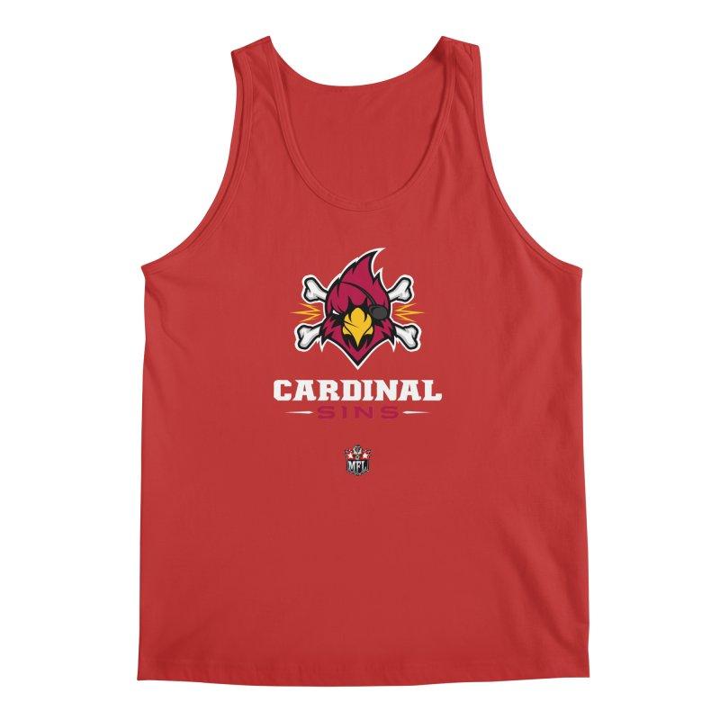MFL Cardinal Sins apparel Men's Regular Tank by Mutant Football League Team Store