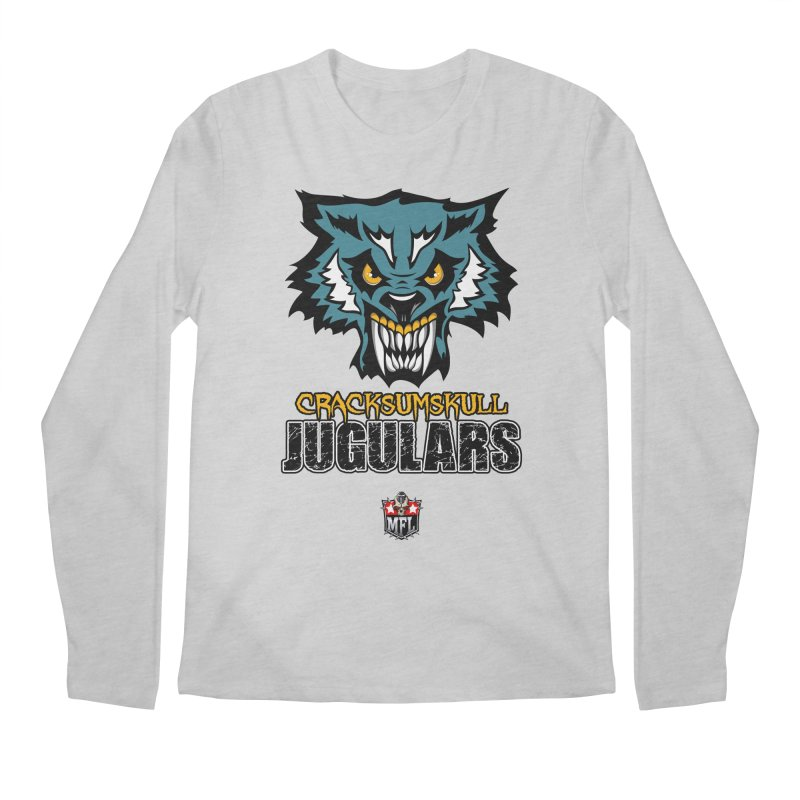 MFL Cracksumskull Jugulars apparel Men's Regular Longsleeve T-Shirt by Mutant Football League Team Store
