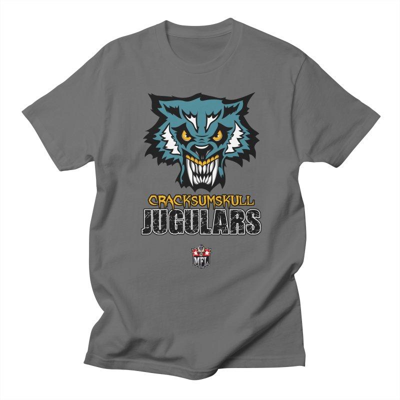 MFL Cracksumskull Jugulars logo Women's T-Shirt by Mutant Football League Team Store