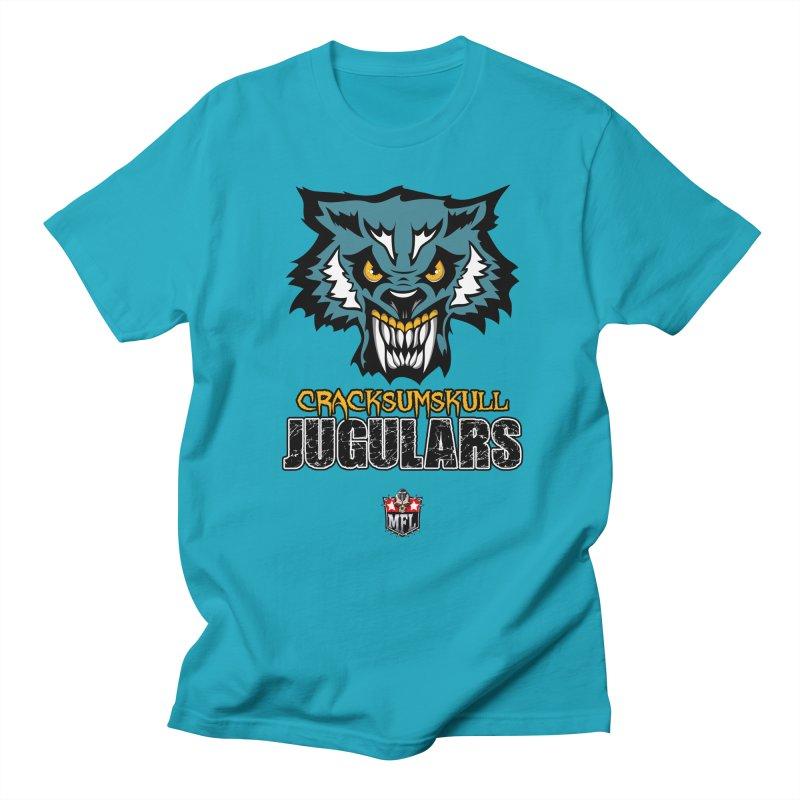 MFL Cracksumskull Jugulars apparel Women's Regular Unisex T-Shirt by Mutant Football League Team Store