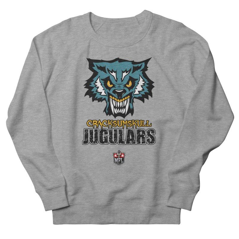 MFL Cracksumskull Jugulars apparel Women's French Terry Sweatshirt by Mutant Football League Team Store