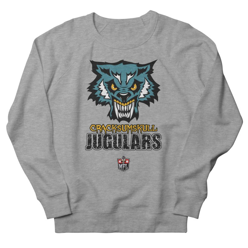 MFL Cracksumskull Jugulars apparel Men's French Terry Sweatshirt by Mutant Football League Team Store