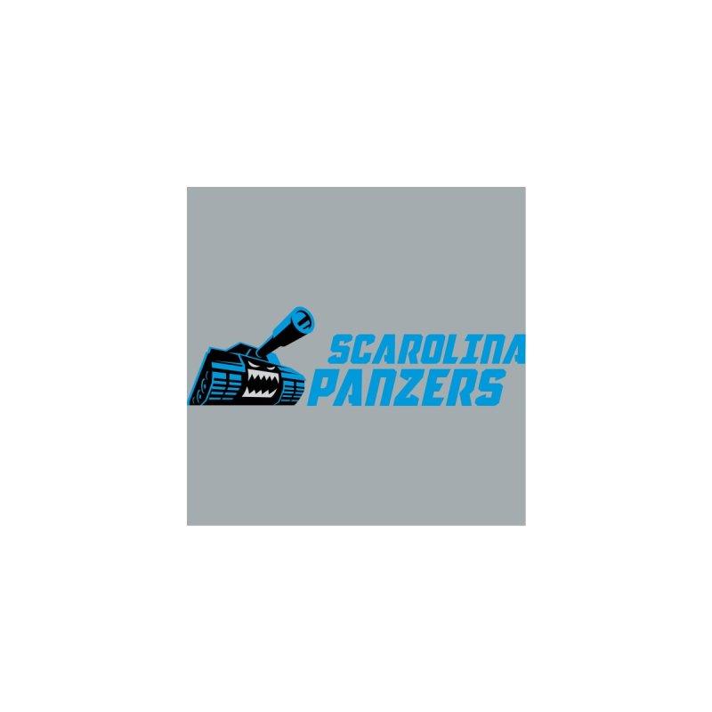 MFL Scarolina Panzers logo Women's Zip-Up Hoody by Mutant Football League Team Store