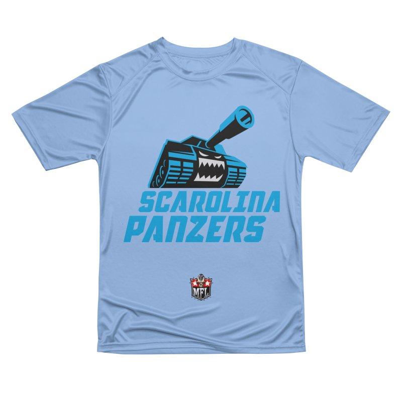 MFL Scarolina Panzers logo Men's T-Shirt by Mutant Football League Team Store