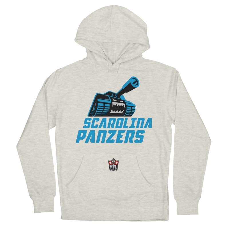 MFL Scarolina Panzers apparel Women's French Terry Pullover Hoody by Mutant Football League Team Store