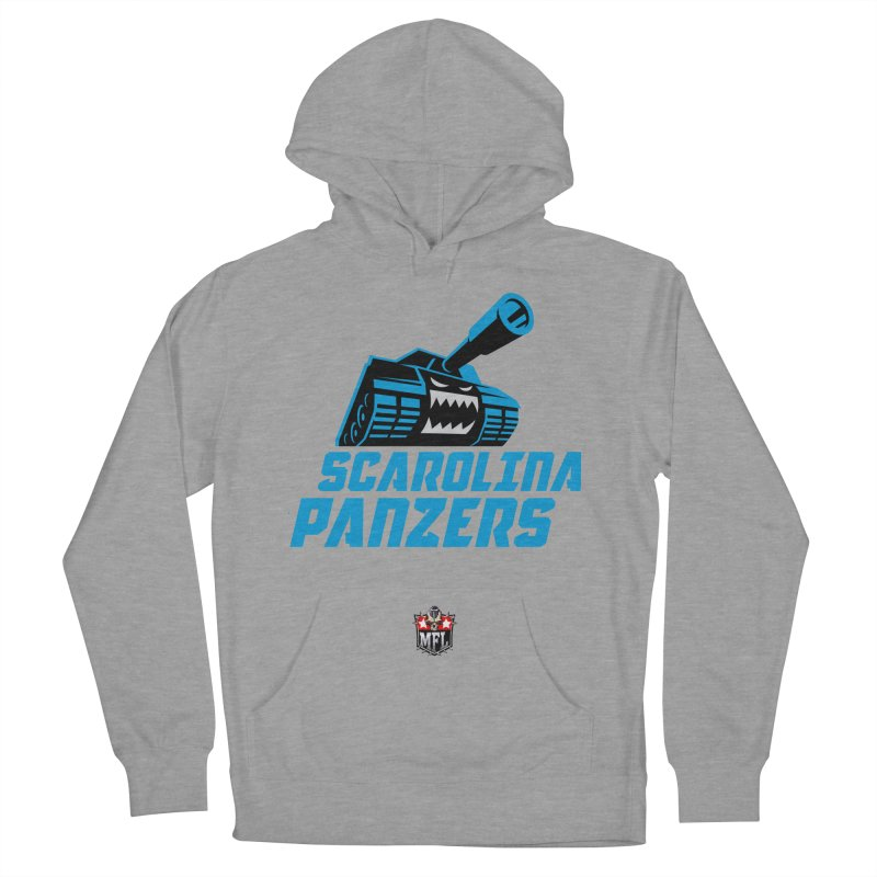 MFL Scarolina Panzers apparel Men's French Terry Pullover Hoody by Mutant Football League Team Store