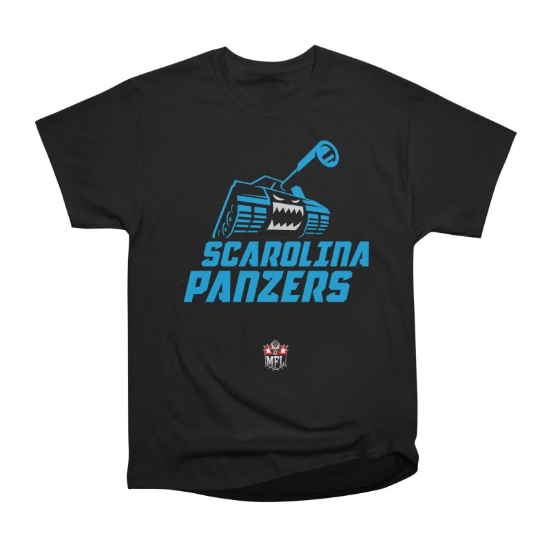 MFL Scarolina Panzers apparel Men's Heavyweight T-Shirt by Mutant Football League Team Store