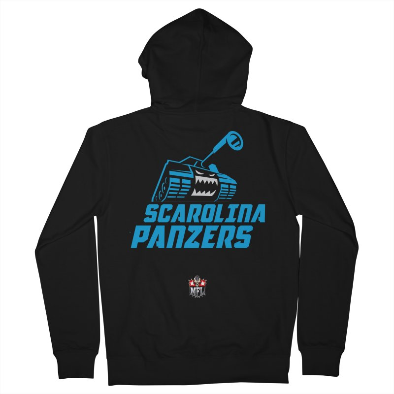 MFL Scarolina Panzers apparel Women's French Terry Zip-Up Hoody by Mutant Football League Team Store