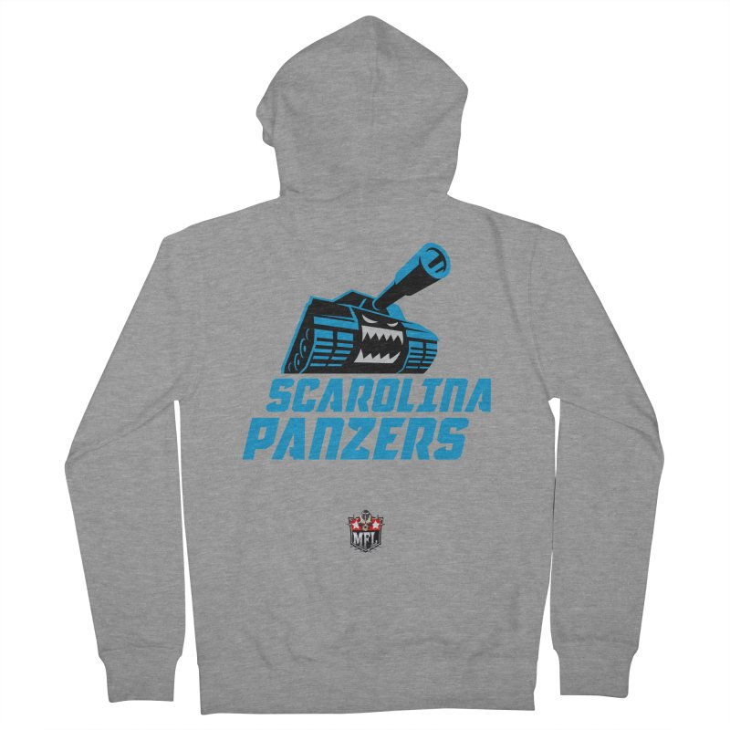 MFL Scarolina Panzers apparel Men's French Terry Zip-Up Hoody by Mutant Football League Team Store