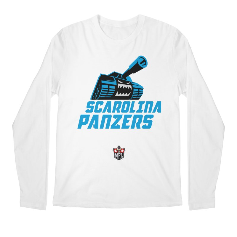 MFL Scarolina Panzers apparel Men's Regular Longsleeve T-Shirt by Mutant Football League Team Store
