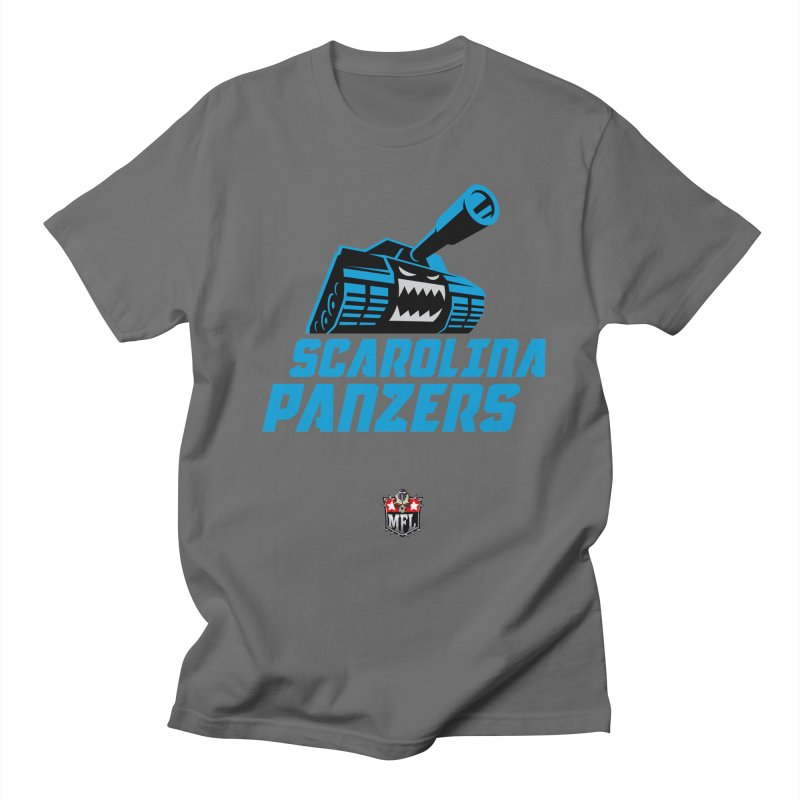 MFL Scarolina Panzers logo Women's T-Shirt by Mutant Football League Team Store