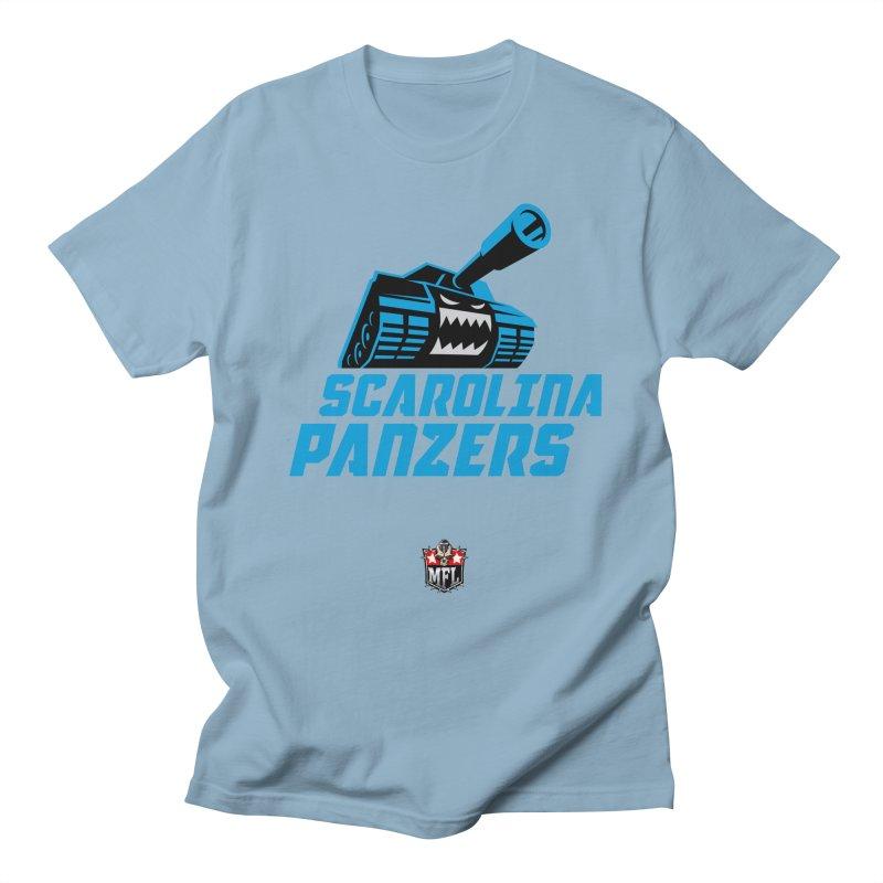 MFL Scarolina Panzers apparel Women's Regular Unisex T-Shirt by Mutant Football League Team Store