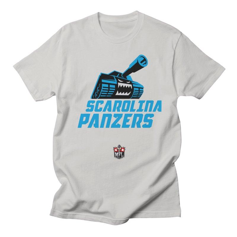 MFL Scarolina Panzers apparel Men's Regular T-Shirt by Mutant Football League Team Store
