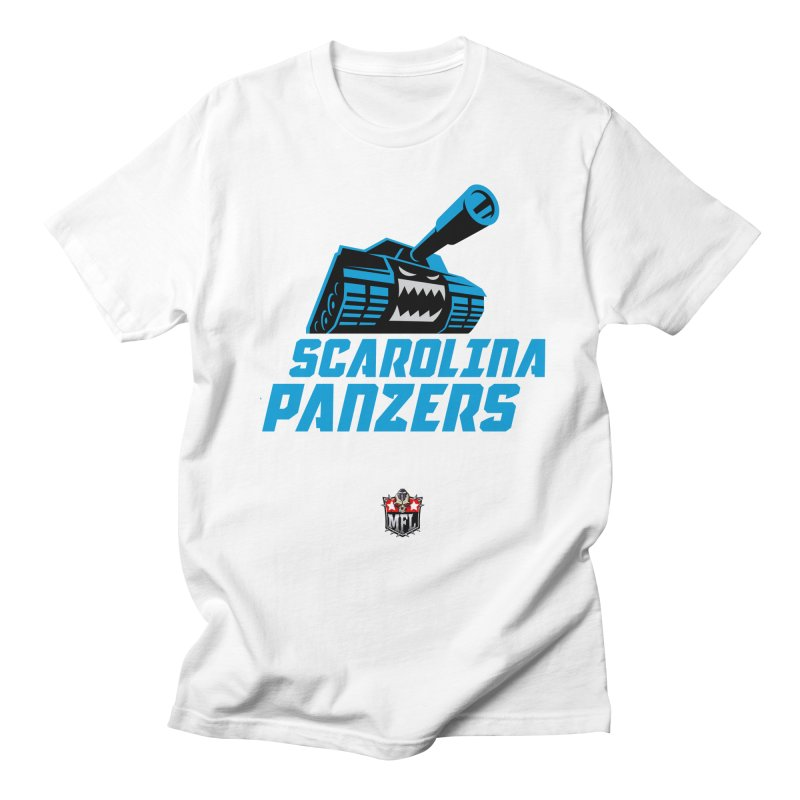 MFL Scarolina Panzers apparel Men's Regular T-Shirt by Mutant Football League Team Store