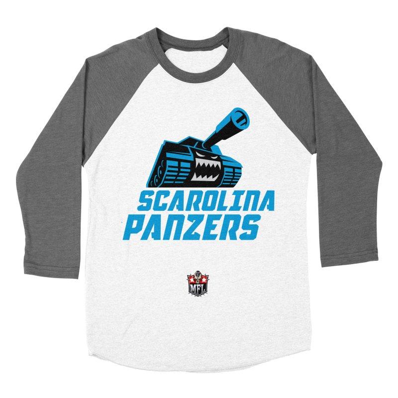 MFL Scarolina Panzers apparel Women's Baseball Triblend Longsleeve T-Shirt by Mutant Football League Team Store