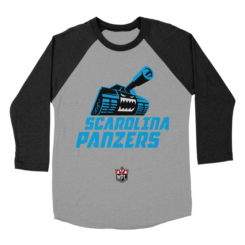 MFL Scarolina Panzers apparel Women's Baseball Triblend Longsleeve T-Shirt by Mutant Football League Team Store