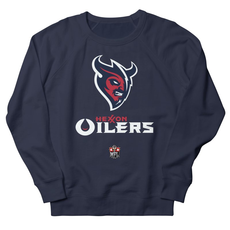 MFL Hexxon Oilers apparel Men's French Terry Sweatshirt by Mutant Football League Team Store