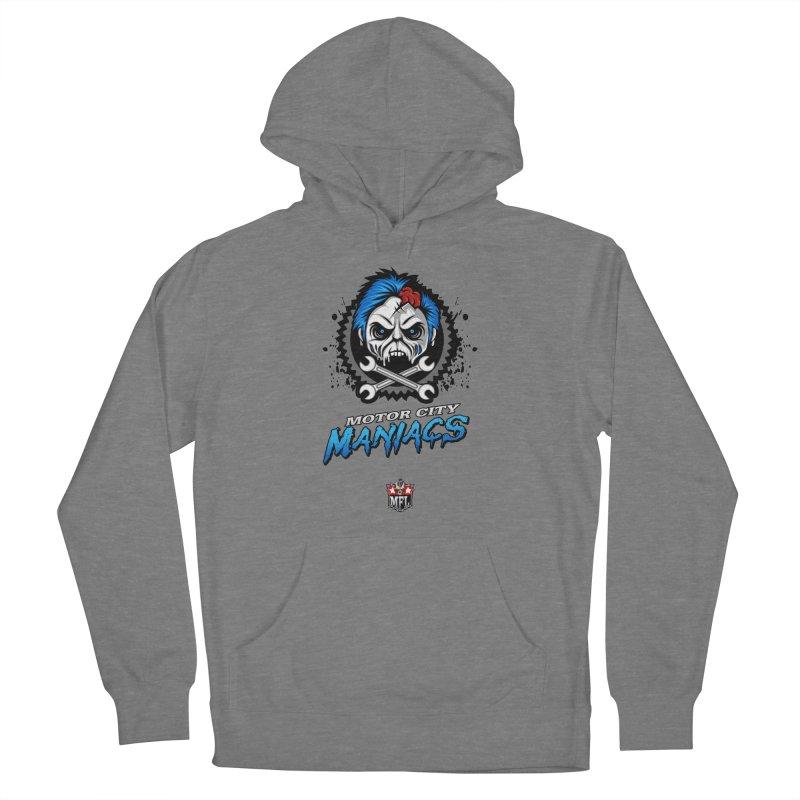 MFL Motor City Maniacs logo Women's Pullover Hoody by Mutant Football League Team Store