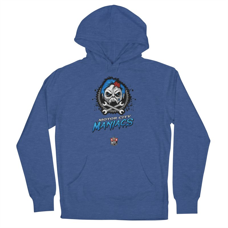 MFL Motor City Maniacs apparel Women's French Terry Pullover Hoody by Mutant Football League Team Store