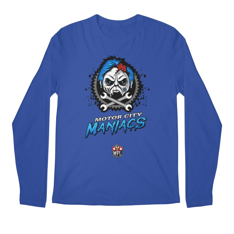MFL Motor City Maniacs apparel Men's Regular Longsleeve T-Shirt by Mutant Football League Team Store