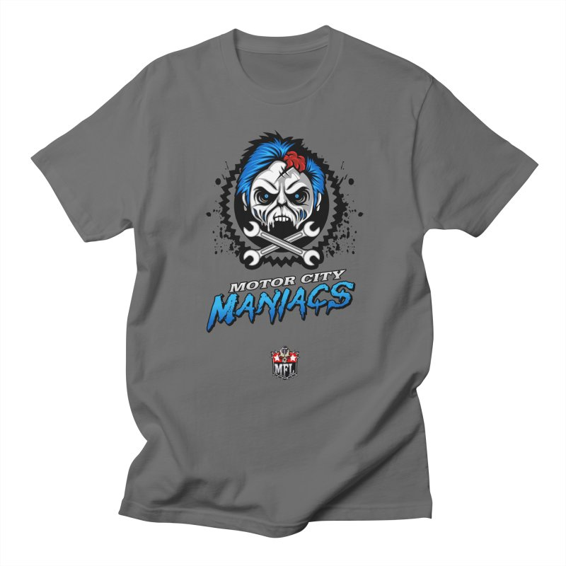 MFL Motor City Maniacs logo Women's T-Shirt by Mutant Football League Team Store