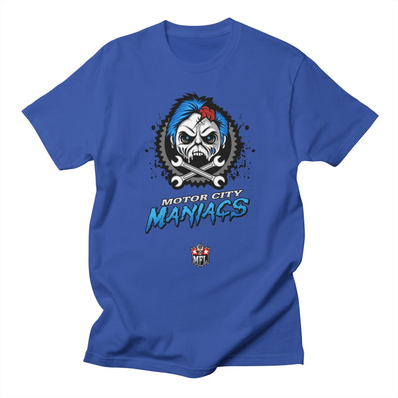MFL Motor City Maniacs apparel Men's Regular T-Shirt by Mutant Football League Team Store