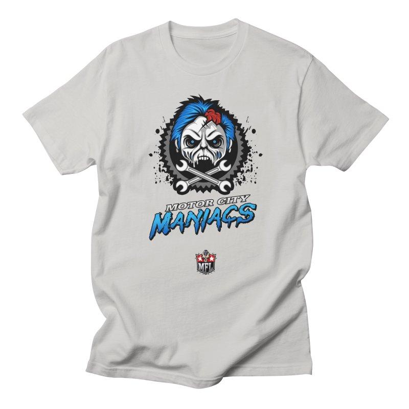 MFL Motor City Maniacs apparel Women's Regular Unisex T-Shirt by Mutant Football League Team Store