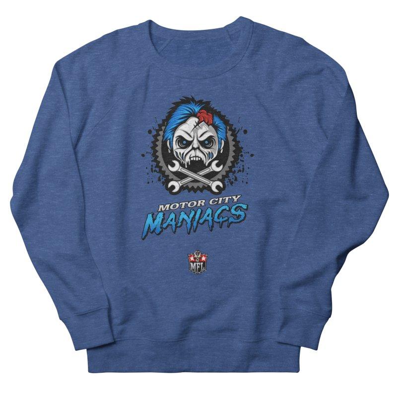 MFL Motor City Maniacs logo Women's Sweatshirt by Mutant Football League Team Store