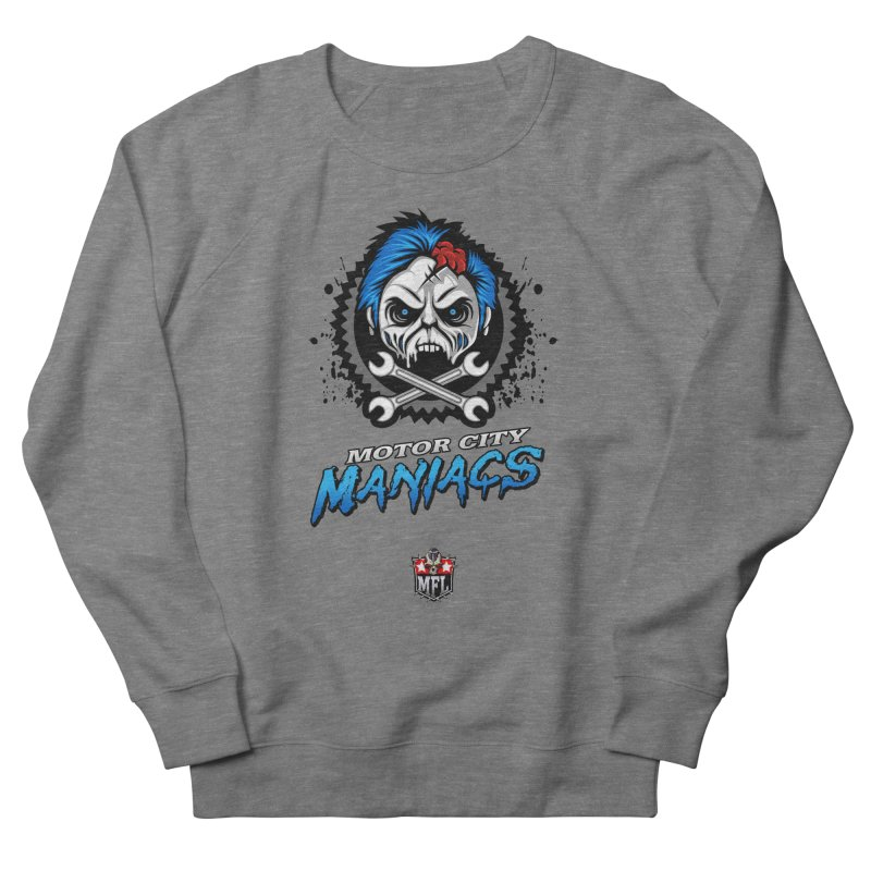 MFL Motor City Maniacs apparel Women's French Terry Sweatshirt by Mutant Football League Team Store
