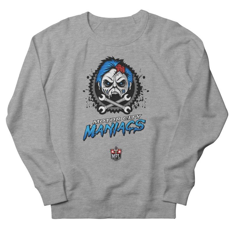 MFL Motor City Maniacs apparel Women's French Terry Sweatshirt by Mutant Football League Team Store