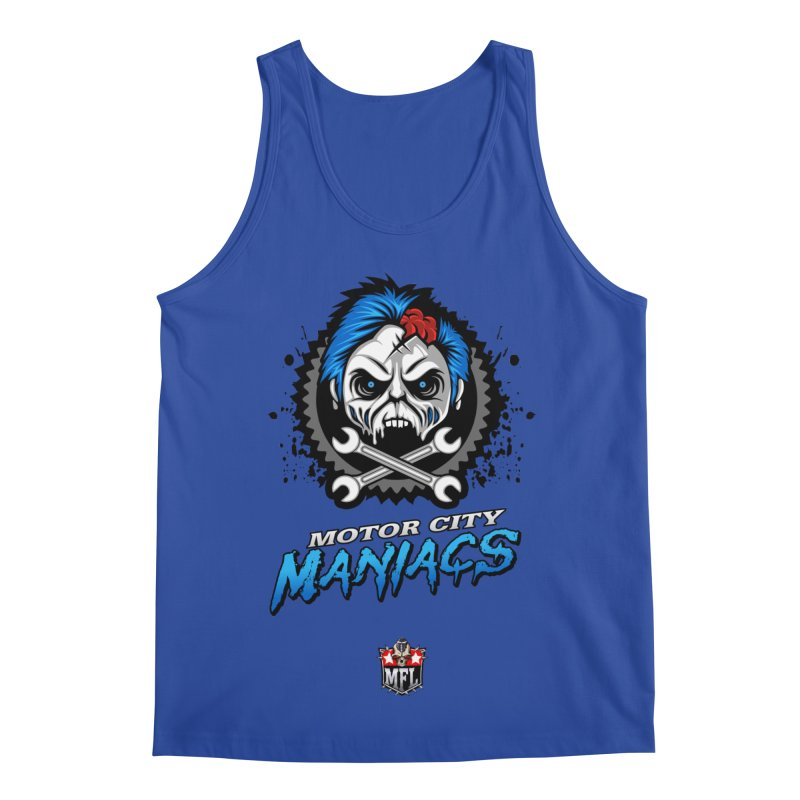 MFL Motor City Maniacs apparel Men's Regular Tank by Mutant Football League Team Store