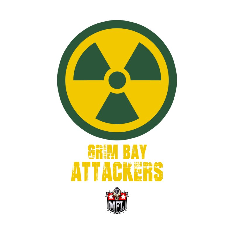 MFL Grim Bay Attackers apparel by Mutant Football League Team Store