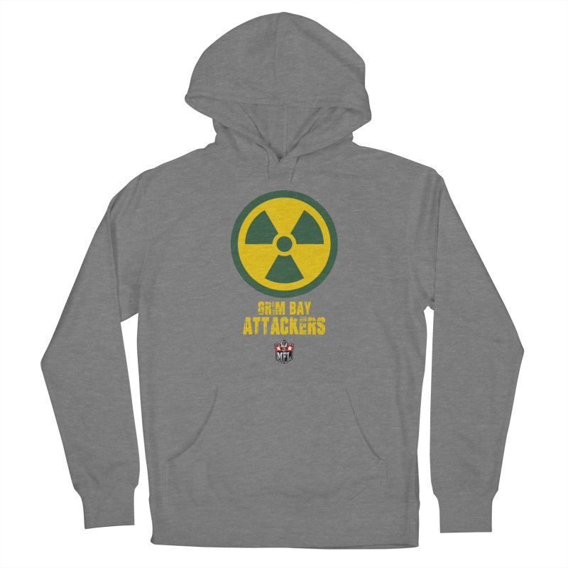 MFL Grim Bay Attackers apparel Men's French Terry Pullover Hoody by Mutant Football League Team Store