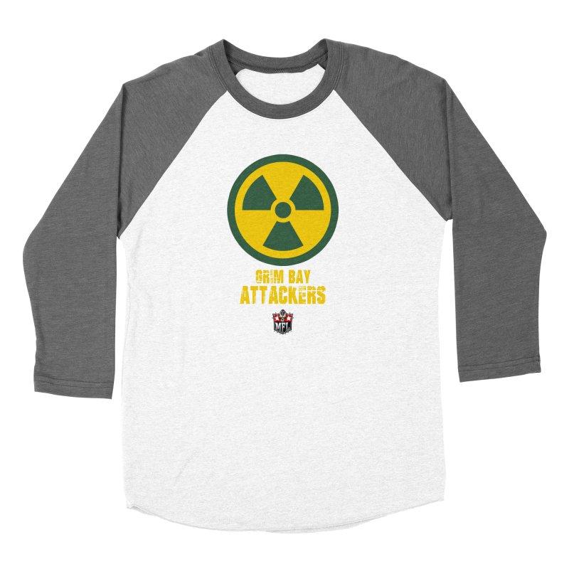 MFL Grim Bay Attackers logo Women's Longsleeve T-Shirt by Mutant Football League Team Store