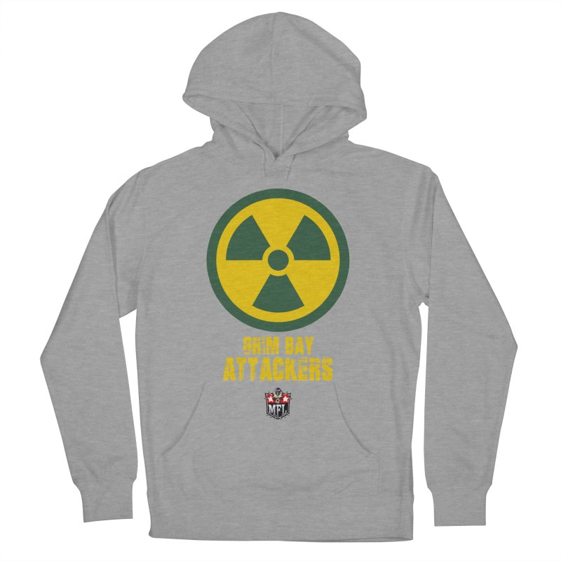 MFL Grim Bay Attackers apparel Women's French Terry Pullover Hoody by Mutant Football League Team Store