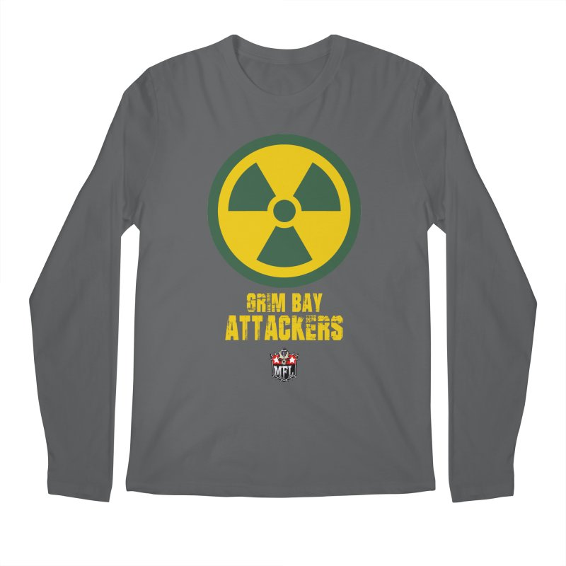 MFL Grim Bay Attackers apparel Men's Regular Longsleeve T-Shirt by Mutant Football League Team Store