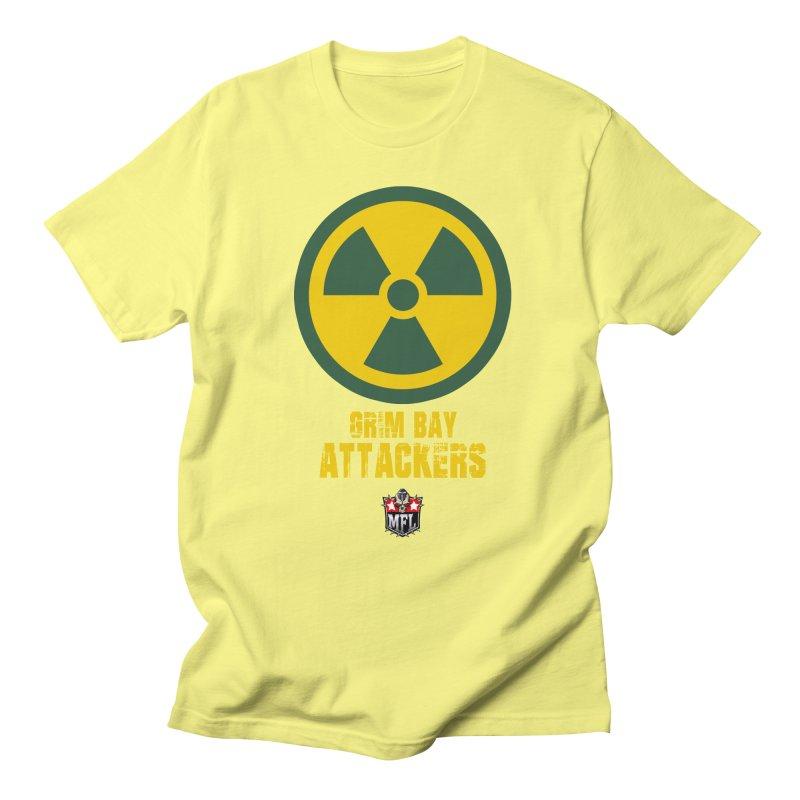 MFL Grim Bay Attackers apparel Men's Regular T-Shirt by Mutant Football League Team Store
