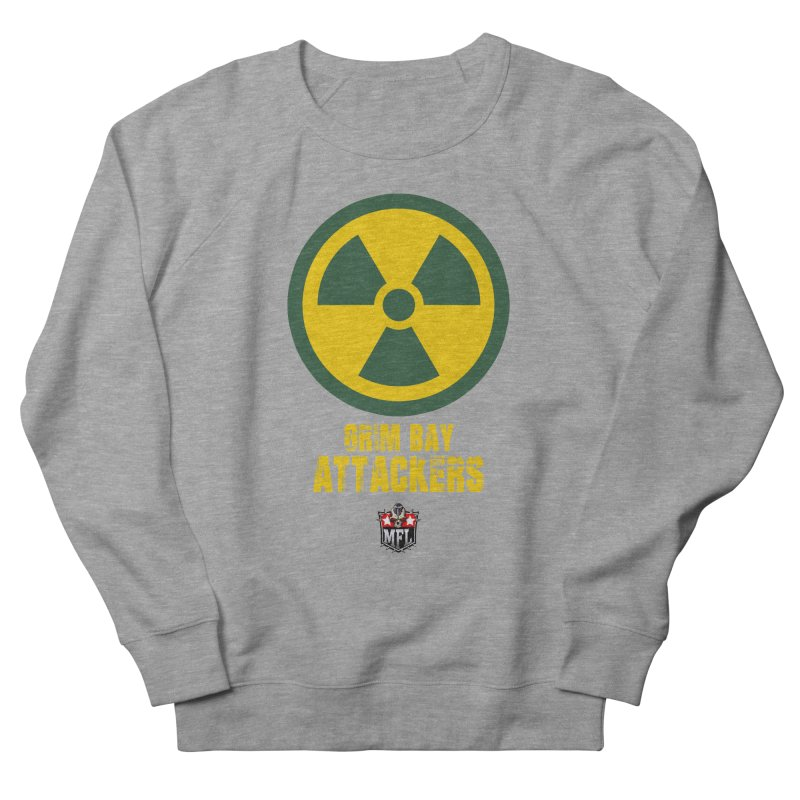 MFL Grim Bay Attackers apparel Women's French Terry Sweatshirt by Mutant Football League Team Store