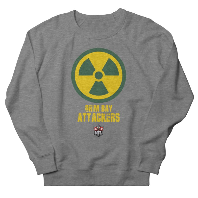 MFL Grim Bay Attackers apparel Men's French Terry Sweatshirt by Mutant Football League Team Store