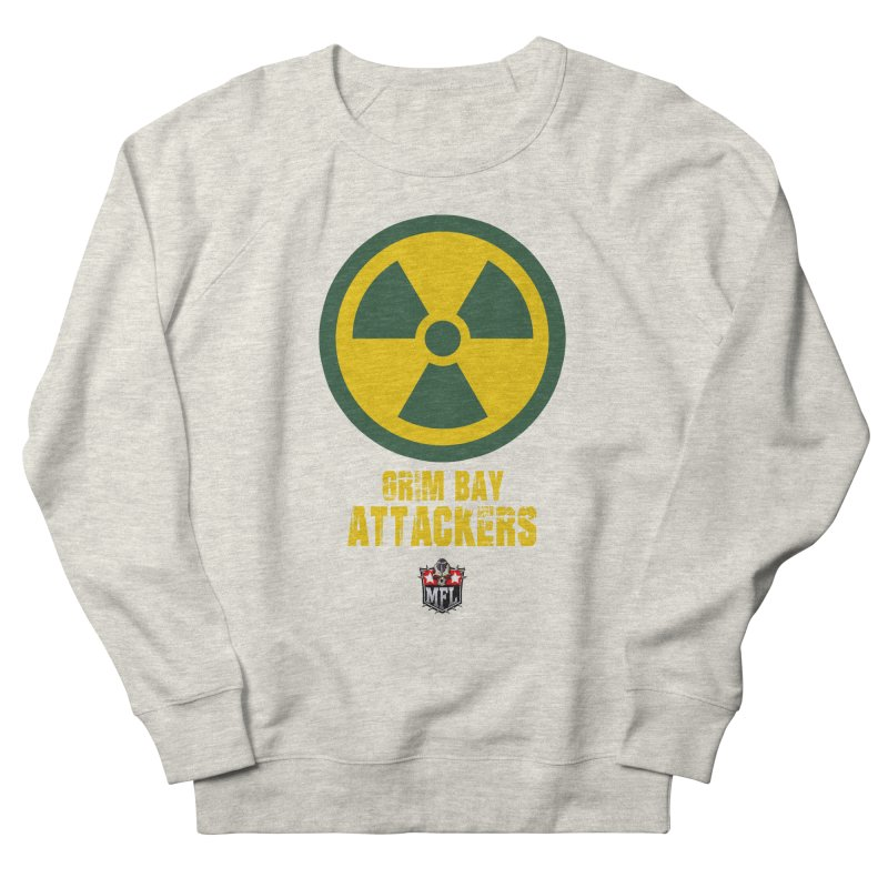 MFL Grim Bay Attackers logo Men's Sweatshirt by Mutant Football League Team Store
