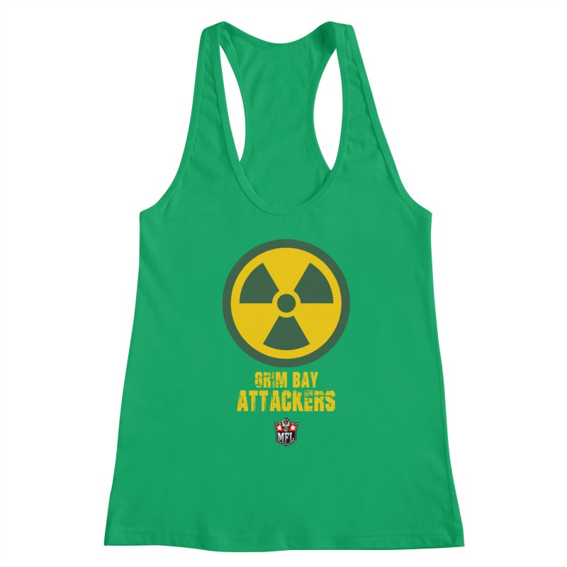 MFL Grim Bay Attackers apparel Women's Tank by Mutant Football League Team Store