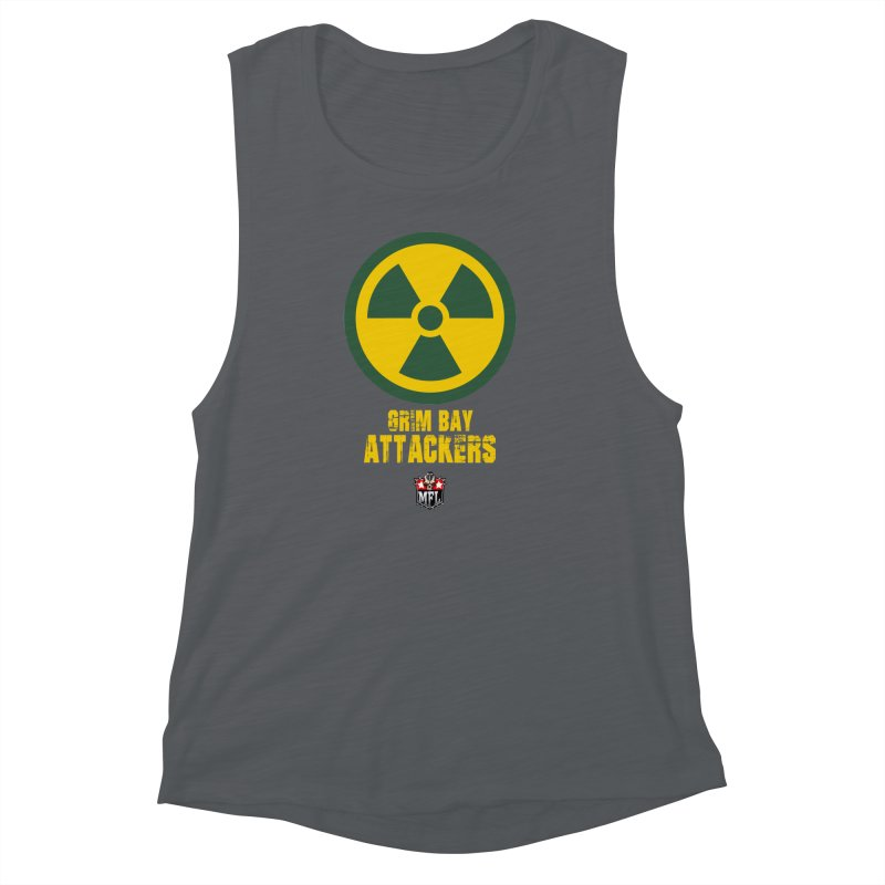 MFL Grim Bay Attackers apparel Women's Muscle Tank by Mutant Football League Team Store