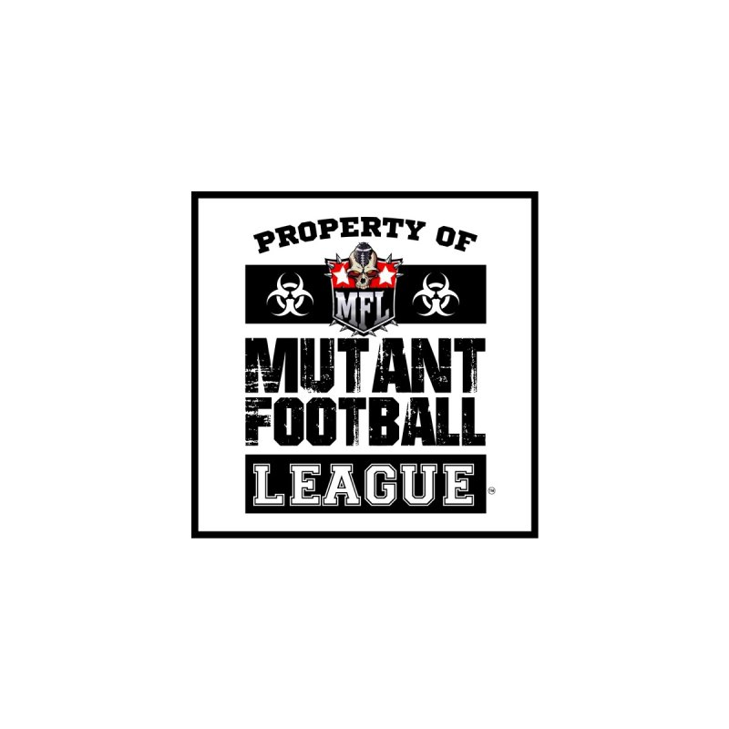 Property of MFL Women's V-Neck by Mutant Football League Team Store