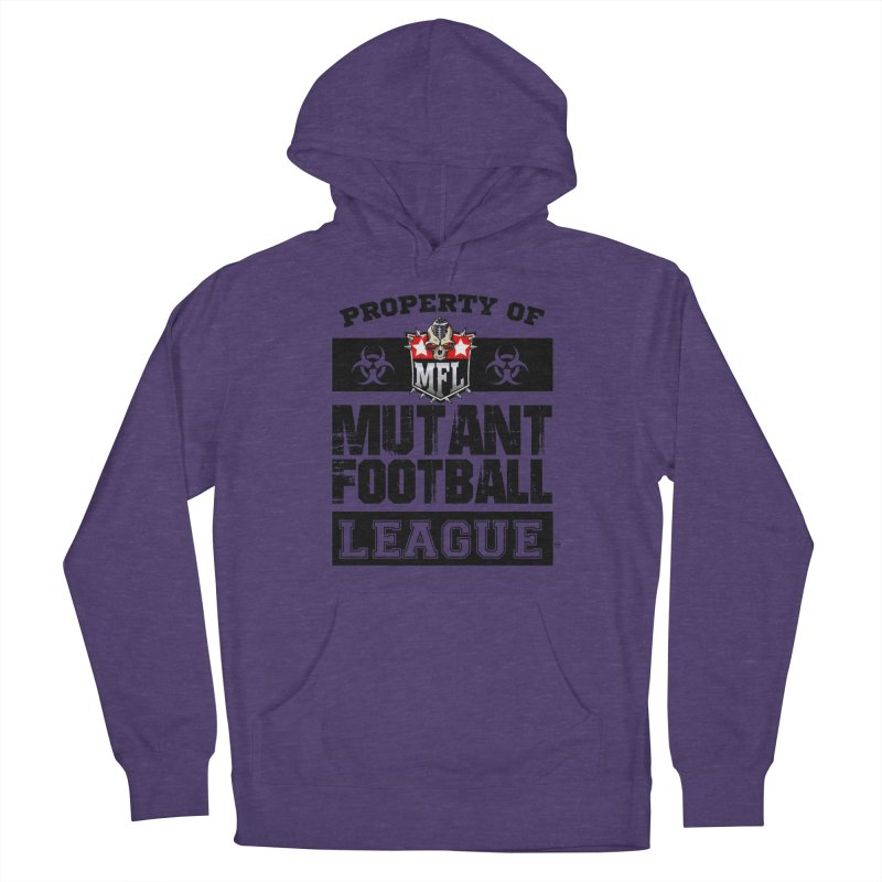 Property of MFL apparel Women's French Terry Pullover Hoody by Mutant Football League Team Store