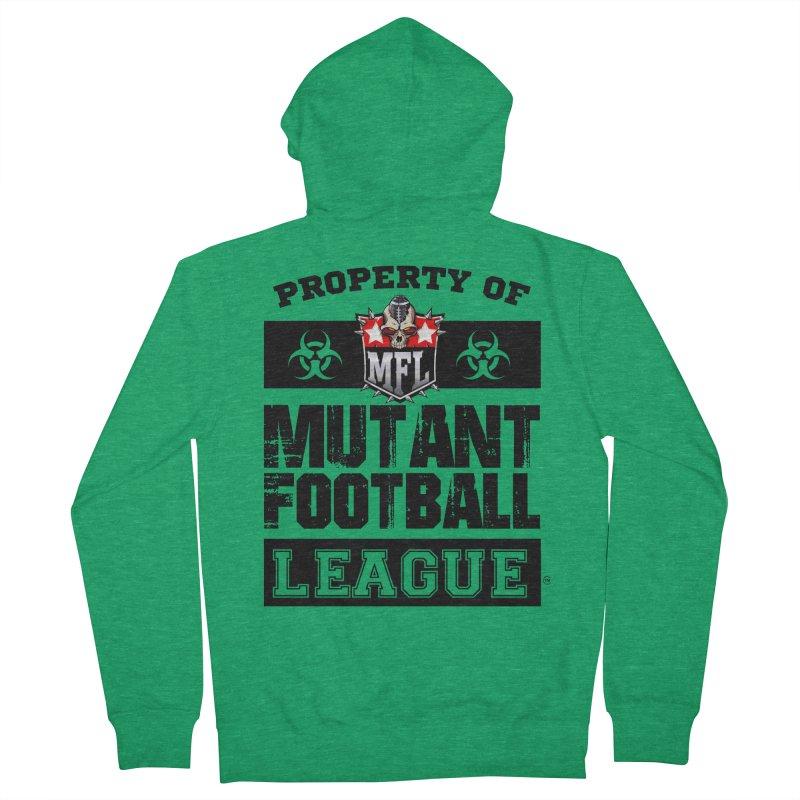 Property of MFL Women's Zip-Up Hoody by Mutant Football League Team Store