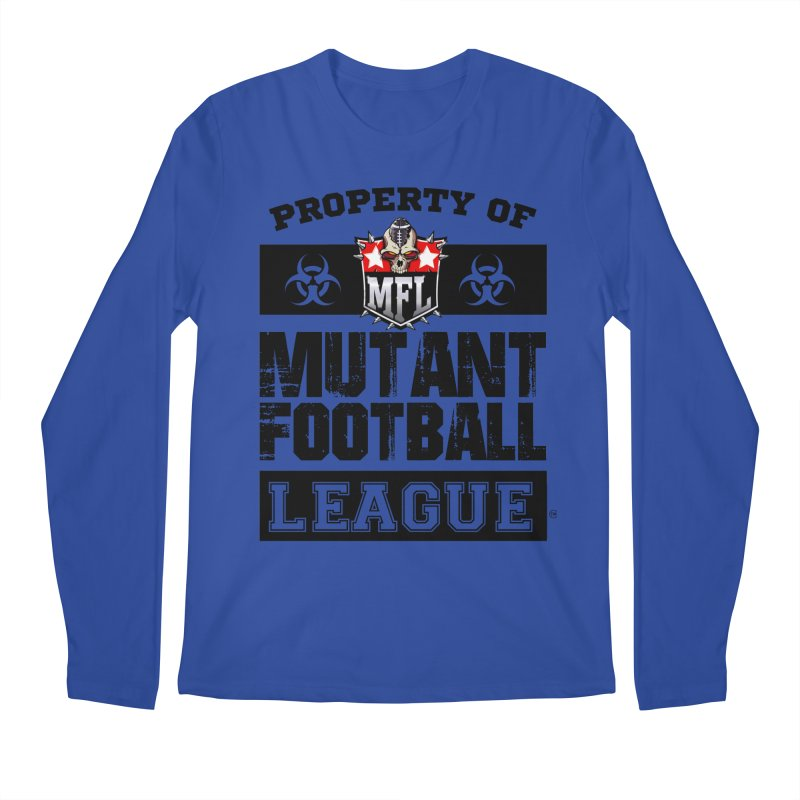 Property of MFL apparel Men's Regular Longsleeve T-Shirt by Mutant Football League Team Store