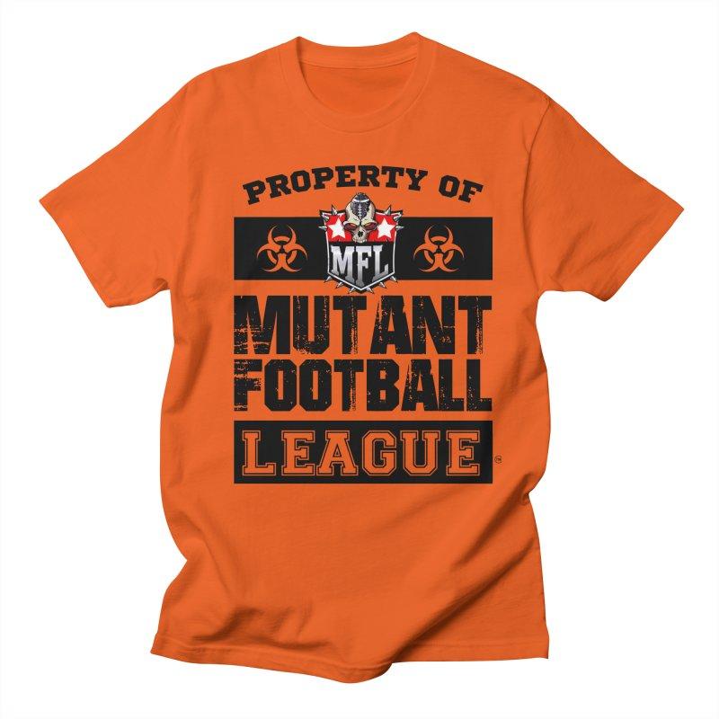 Property of MFL Women's T-Shirt by Mutant Football League Team Store