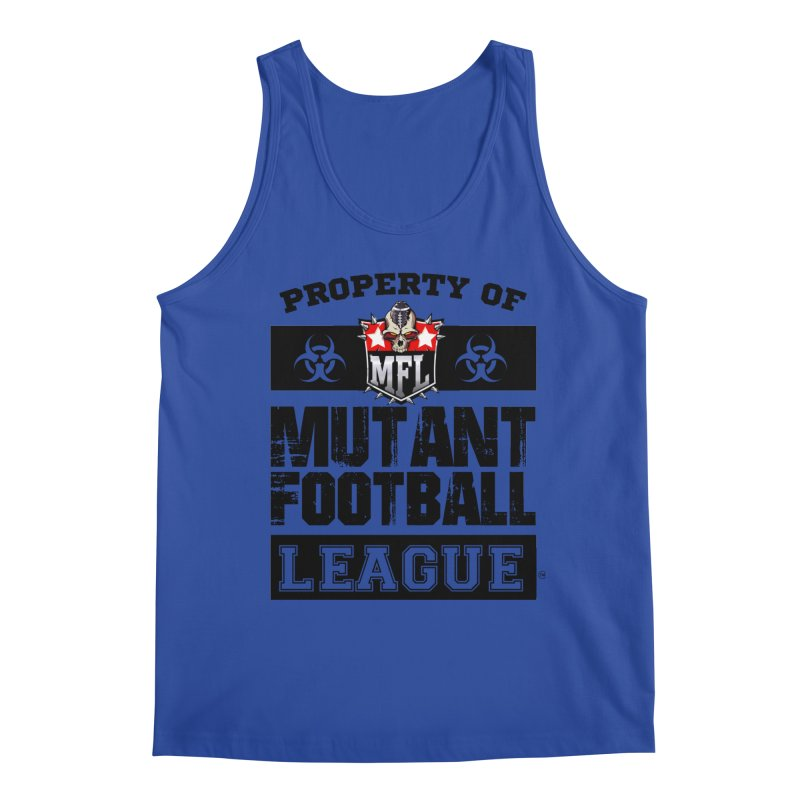 Property of MFL apparel Men's Regular Tank by Mutant Football League Team Store